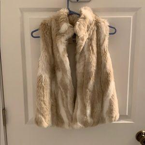 Abercrombie kids fur vest